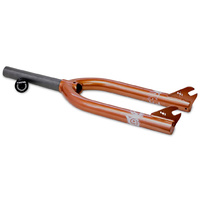 Macneil ID V2 Burnt Orange BMX Bike Fork - 10mm Dropouts BMX Forks