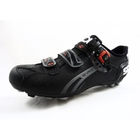SiDi Dominator 5-Fit Mega MTB Shoes Size 46 (US 11.5) - Black w Red and White