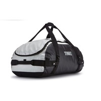 Thule Chasm 40 Litre Sport Duffel Bag - Small Light Grey and Black Sports Bag