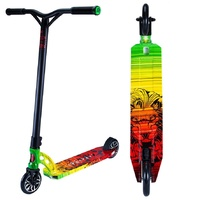 Madd Gear MGP VX7 Extreme Complete Scooter Rasta Design Full Wrap - New 2017
