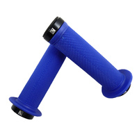 Evoke Lock-On Grips - Blue Mountain Bike / BMX Lock On Bike Grips