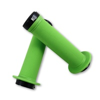Evoke Lock-On Grips - Green Mountain Bike / BMX Lock On Bike Grips