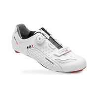 Louis Garneau CFS-300 Road Cycling Shoes - White and Black - Size 42