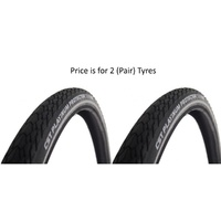 2x (PAIR) 26 x 1.75 Platinum Protector Puncture Proof Bike Tyres (E-Bike Approved)