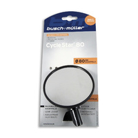 Busch & Muller Cycle Star 80mm Cycling / Bike Mirror - 903/2 Safety Mirror