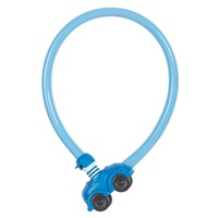 Abus My First Childrens Bike Cable Lock - Blue Kids Cycling Loop Lock Cable