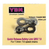 YBN 7.8 Speed Quick Release Safety Link QRS - 7.8 Speed Chain Connector Link