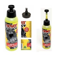 Never Flat Tyre Sealant 250ml   x  10 UNITS