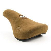Tree Ergo Fat Pivotal BMX Seat - Brown BMX Saddle - Suede Feel