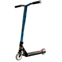 Grit Elite Scooter New 2018 - Satin Black / Laser Blue Scooter MY17/18