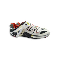 Mavic Ergo Avenir Cycling Shoe White With Red and Black Size UK 8.5/ US 9 Shoes