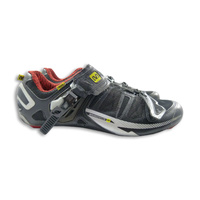 Mavic Ergo Cycling Shoe Black with Red and Yellow Size UK 8.5/ US 9 Shoes