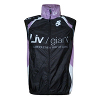 Liv/Giant Womens Cycling World Vest - Black/White/Purple
