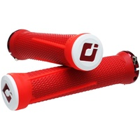 ODI Aaron Gwin AG1 Signature Lock-On Downhill MTB Grips - Red/White/Red