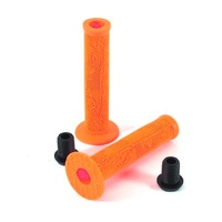 Colony HFL Orange BMX Grips - CHEAP Scooter Grips or BMX Grips