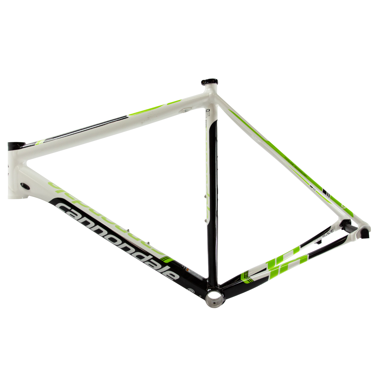 Cannondale CAAD10 Frame & Fork Alloy 700 - 56cm - Magnesium White ...