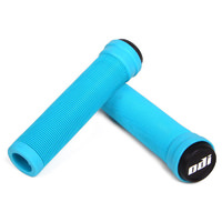 ODI Longneck ST Flangeless BMX and Scooter Grips - Light Blue / Aqua Blue. NEW!
