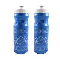 2 x BOA Cycle Station 650ml Sports / Cycling Drink Bottle
