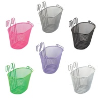 BC Small Wire Front Bike Basket - Various Colour Bicycle Baskets