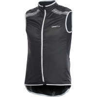 Craft Performance Mens Bike Featherlight Vest - Black / Vest Road Cycling Gilet