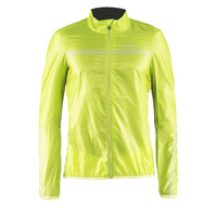 Craft Featherlight Mens Cycling Jacket - Fluro Yellow Bike Jacket