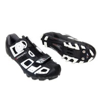 Louis Garneau Mens T-Flex LS-100 MTB Cycling Shoes - Black and White Size EU 47