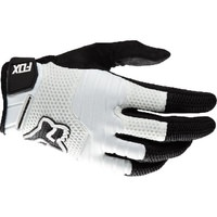 Fox Side Winder MTB Cycling Long Finger Gloves - Black / White - Size XX Large