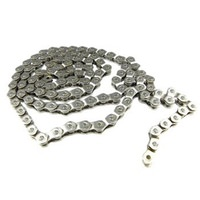 Sunday Strength Half Link BMX Silver Bike Chain Single Speed 1/2 x 1/8 112 links