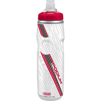Camelbak Podium Big Chill 750ml (25oz) Hydration Bike Bottles - Various Colours [Colour : Red ]