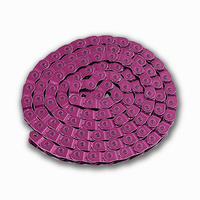 YBN MK918 Half Link Track / BMX Bike Chain Single Speed 1/2 x 1/8 x 102L Pink