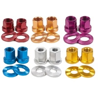 The Shadow Conspiracy Alloy Axle Nuts - 14mm BMX Bike Nuts - Various Colours