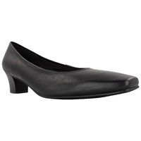 ADF - Military Australian Defence Force Leather Black Ladies Dress Shoe 12.5  NSN: 8435/66/153/6876