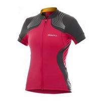 Caft PB Women's Cycling Jersey - Hibiscus Ladies Bike Jersey