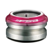 "FSA Impact Integrated BMX Headset  1 1/8"" Transparent Pink Head Set"