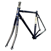 SlideAway Cross Steel Road Bike Frame Blue 540mm (Size XL), Frame/Fork ONLY.