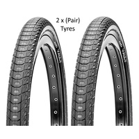 "2 x CST Vault BMX Tyres -  20"" x 2.2"" Black Bike Tires"