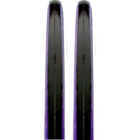 2 x CST C1406 Road Bike Tyres - Black / Purple Wall 700 x 23c Bicycle Tyres