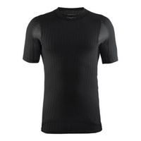 Craft Active Extreme 2.0 CN SS Black Men's Baselayer - Size Large