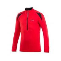 Craft PB Mens Thermal Cycling Jersey - Bright Red / Black Bike Top - Medium