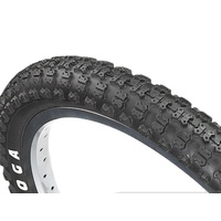 "2 x Tioga BMX Comp 3 Old School Black 20 x 1.50"" Tyres"