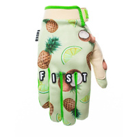 Fist Handwear Pina Colada Strapped Motocross Dirt Bike BMX MTB Bike Gloves