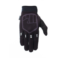 Fist Handwear Stocker Black Strapped Motocross Dirt Bike BMX MTB Bike Gloves