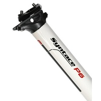Syntace P6 Carbon Seatpost - 34.9mm x 400mm White Carbon Bike Seat Post