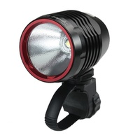 Xeccon Spiker 1206 1200 Lumens Headlight - Black Rechargeable Front Bike Light