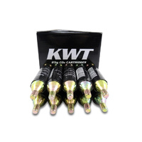 10 x 25gm KWT Co2 Cartridges - Mountain Bike - Larger 25gm Size