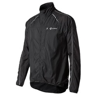 CUBE Pro Wind Jacket - Black Lightweight Long Sleeve Jacket - Various Sizes