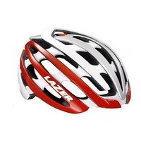 Lazer Z1 Road Bike Helmet Kit - White / Red Bike Helmet Cover / Lock / Cap