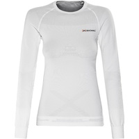 X Bionic Energy Energizer Women's Long Sleeve Base Layer - White Top - XS