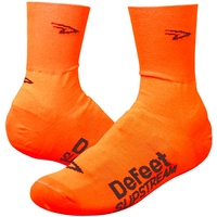 Defeet Slipstream Hi VIs Orange Bike Overshoes Slip Stream Over Socks EU 34-41