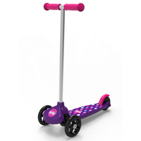 Balbi Junior Scooter Complete Kids / Beginner Scooter 3+ Purple / Pink